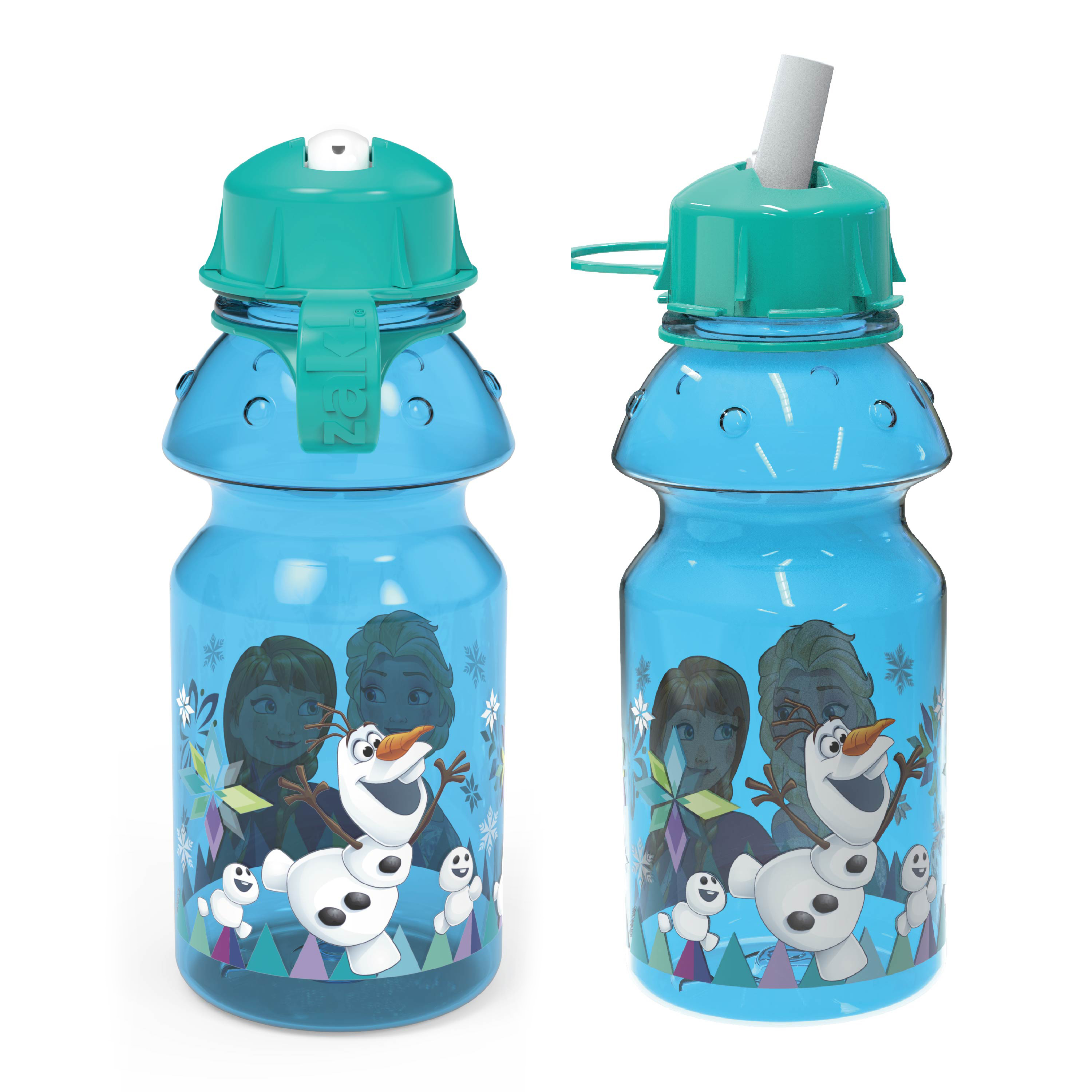 Disney Frozen 14 ounce Water Bottle, Anna, Elsa and Olaf slideshow image 3