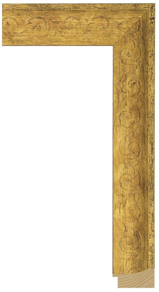 Mantilla Gold 1 3/4