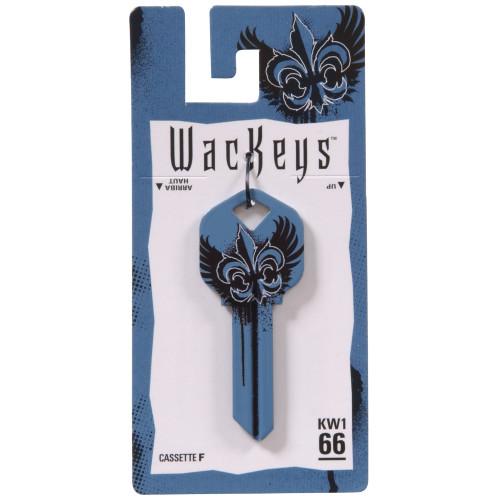 WacKey Blue Wings Key Blank Kwikset/66 KW1