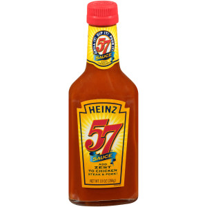 HEINZ 57 Sauce Bottle, 10 oz. Bottle (Pack of 12) image