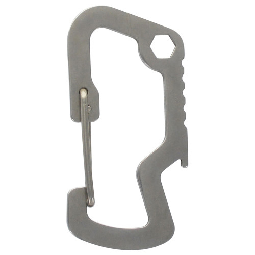 Hillman Key Chain Multi-Tool with Carabiner, Wrench and Bottle Opener