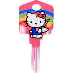 Hello Kitty Paint Key Blank