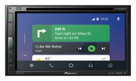 "Pioneer AVH-2500NEX Multimedia DVD Receiver with 6.8"" WVGA Display"