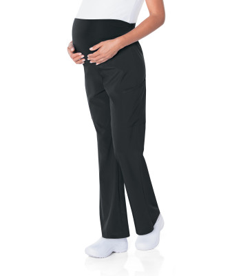 Landau ProFlex Maternity Scrub Pants for Women: Modern Tailored Fit, 2-Way Stretch, Boot Cut 2399-Landau