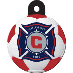 Chicago Fire Large Circle Quick-Tag