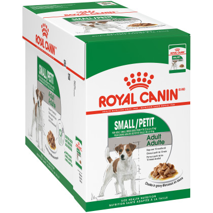 Small Adult Pouch Dog Food