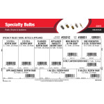 Specialty Bulbs Assortment (Radio, Bicycle, & Appliance)