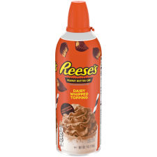Reese's Peanut Butter Whipped Topping 7 oz Aerosol Can