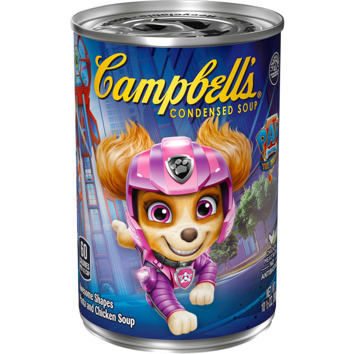 Paw Patrol Soup with Chicken in Chicken Broth