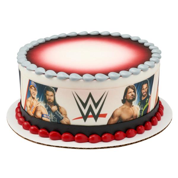 WWE™ Superstars PhotoCake® Edible Image® Strips