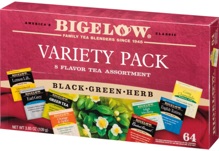 Fine Tea & Herbal Tea Assortment Box closed