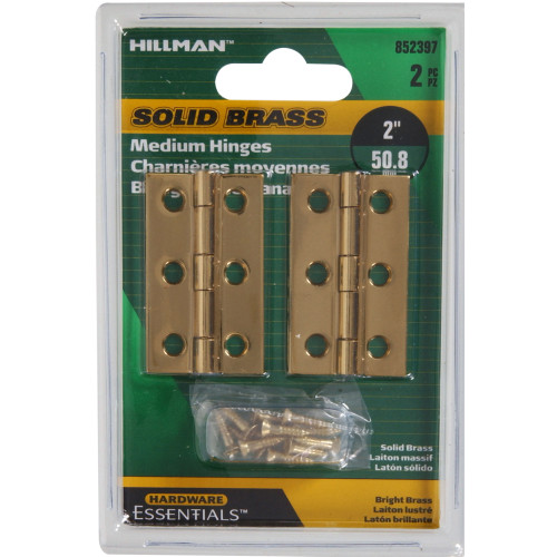 Hardware Essentials Medium Hinge 2
