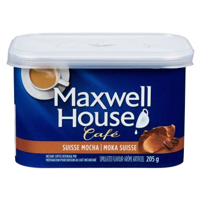Maxwell House Suisse Mocha Flavoured Instant Coffee