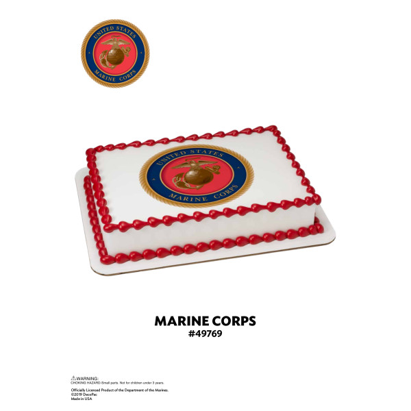 United States Marine Corps Edible Image® The Magic of Cakes® Page