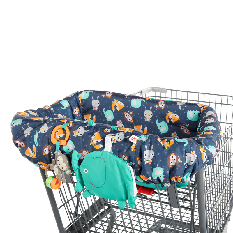 2-in-1 Ultra Cozy Cart Cover™ - Animal Spree