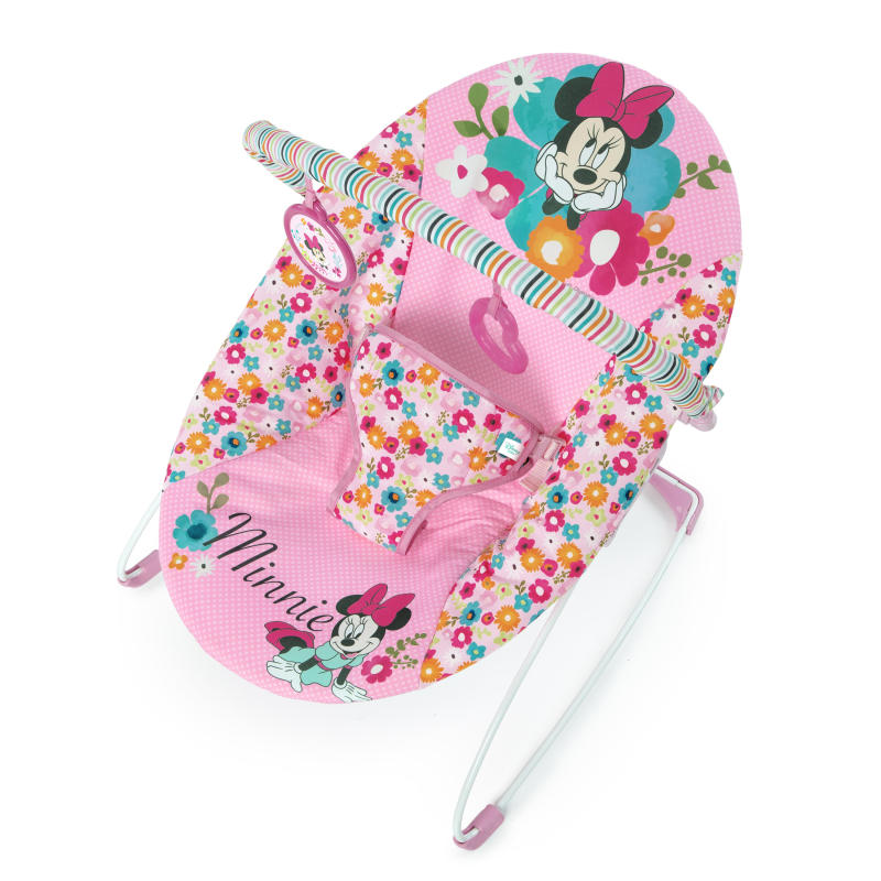 Minnie Mouse Perfect in Pink Vibrating Bouncer