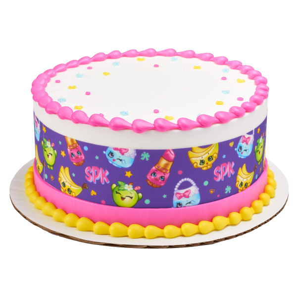Shopkins™ Besties for Life PhotoCake® Edible Image® Strips