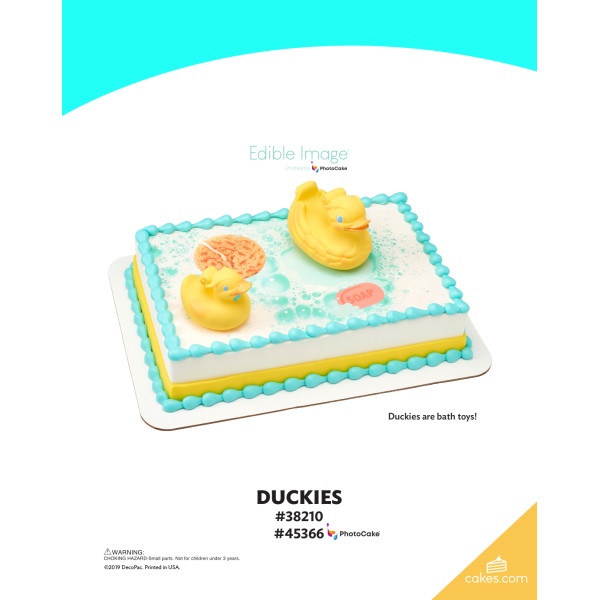 Duckies DecoSet® The Magic of Cakes® Page