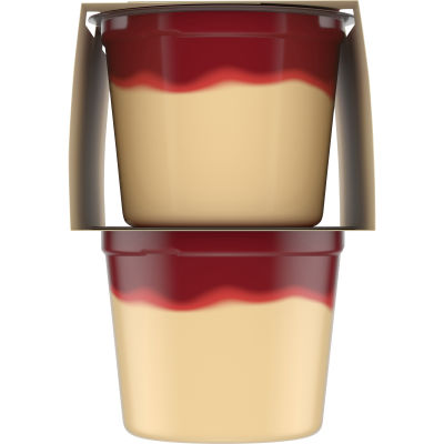 Jell-O Ready to Eat Strawberry Cheesecake Pudding Cups 14 oz Sleeve (4 Cups)