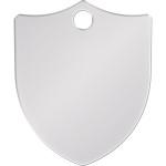 Chrome Large Shield Quick-Tag