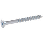 Zinc Flat Head Square Drive Wood Screws