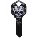 WacKey Black Skull Key Blank