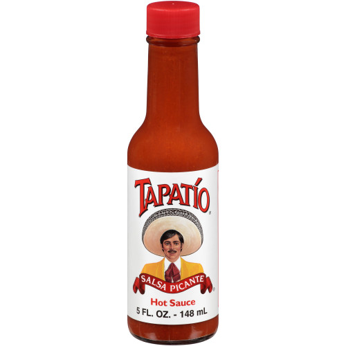 TAPATIO Hot Sauce, 5 oz. Bottles (Pack of 24)