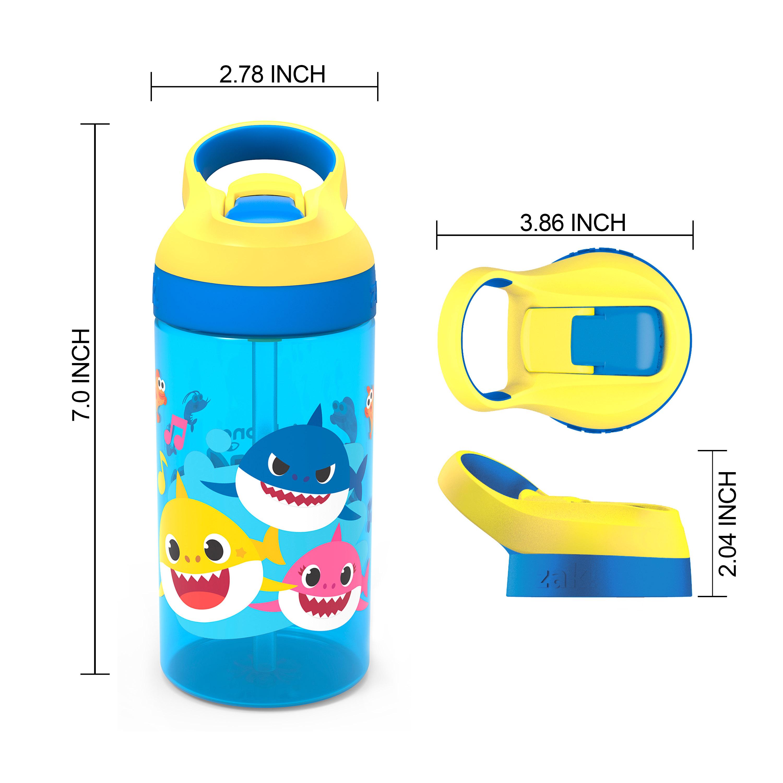 Baby Shark 16 ounce Water Bottle, Underwater Friends slideshow image 7