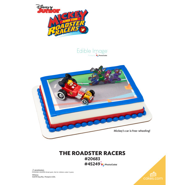 Mickey and the Roadster Racers DecoSet® The Magic of Cakes® Page