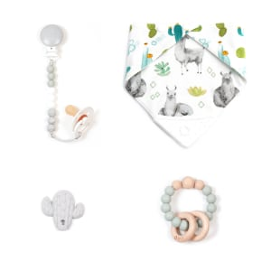 Bulle - 4-Piece Gift Set for Babies Tropical