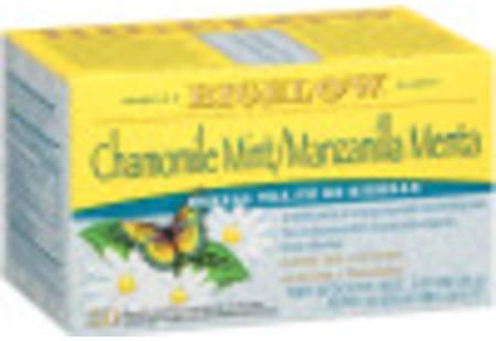 Te de Manzanilla Menta de Hierbas - Case of 6 boxes- total of 120 teabags