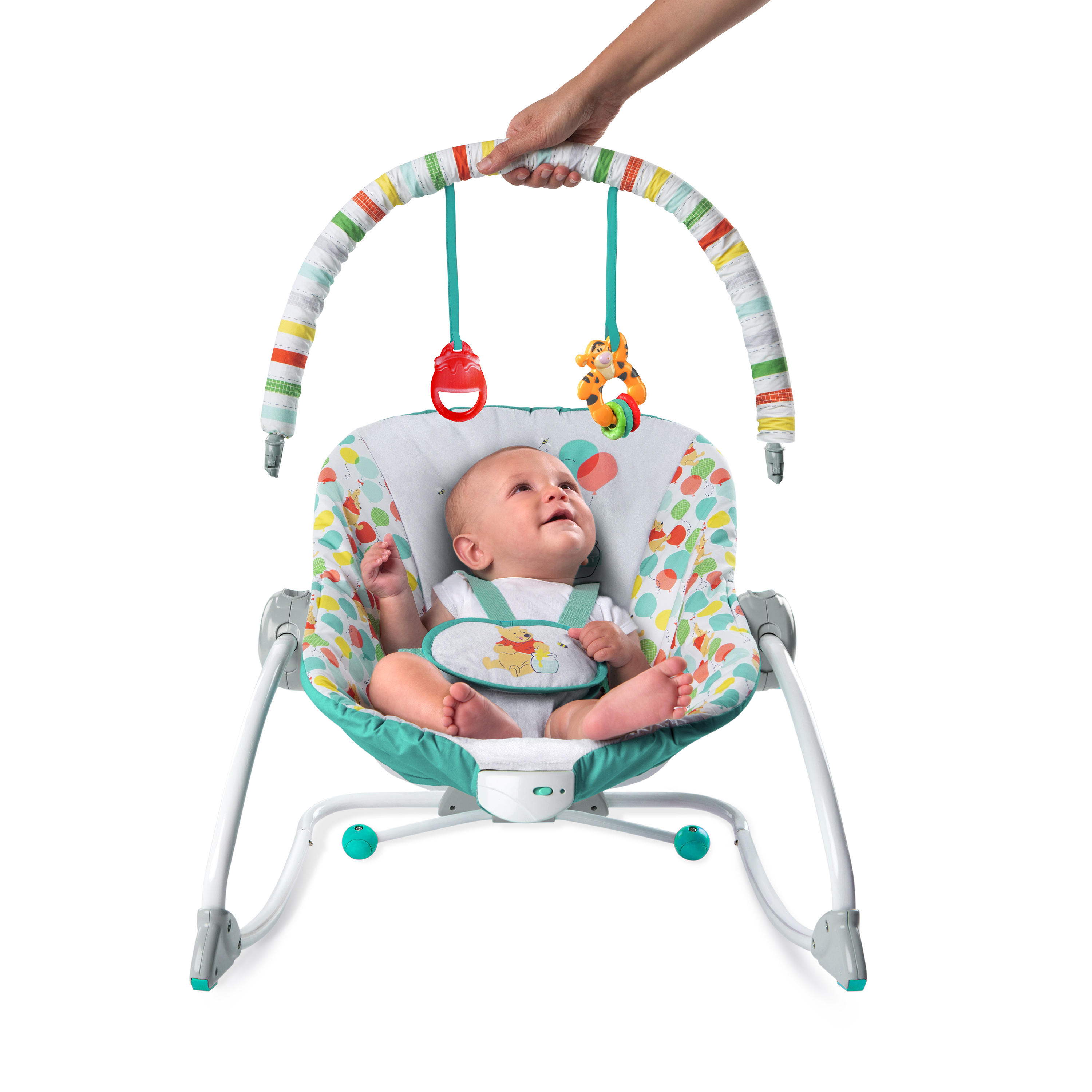 Winnie the Pooh Happy As Can Bee Infant to Toddler Rocker™ from Bright Starts™