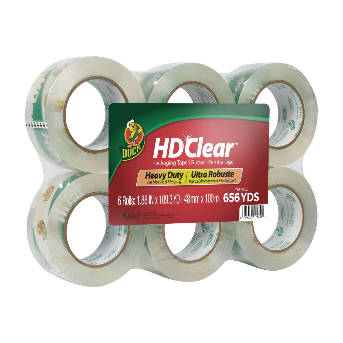 HD Clear™ Heavy Duty Packing Tape Image
