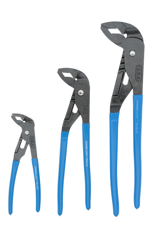 GLS-3 3pc GRIPLOCK® Tongue & Groove Pliers Set