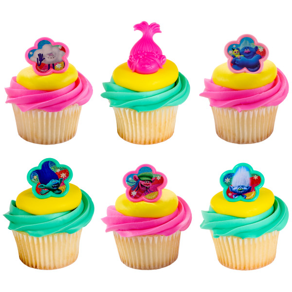 DreamWorks - Trolls Hugs & Happiness Cupcake Rings