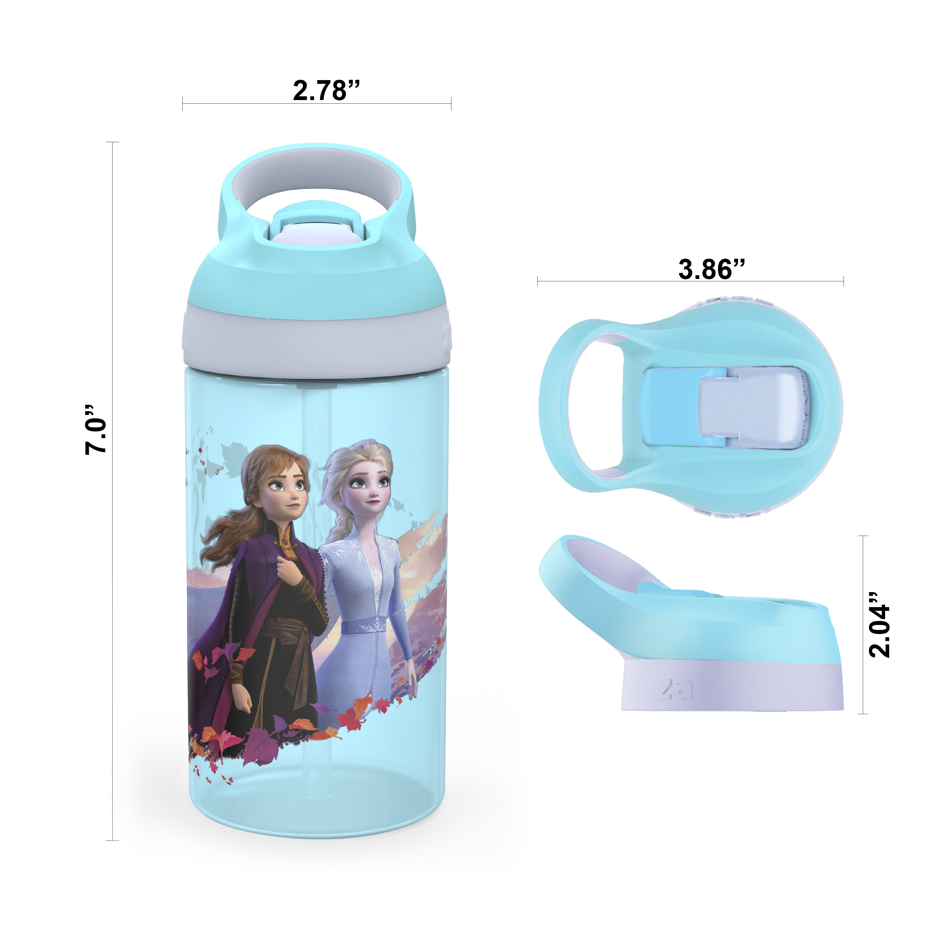 Disney Frozen 2 Movie Dinnerware Set, Anna and Elsa, 5-piece set slideshow image 5