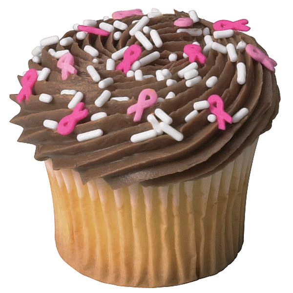 Breast Cancer Awareness Pink Ribbon® Sprinkle Mix Quins