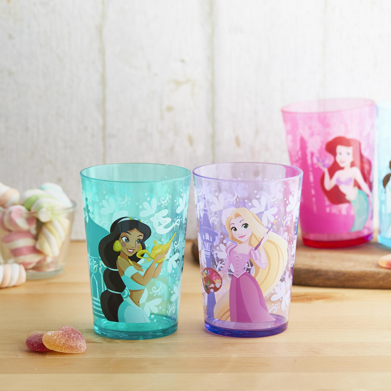 Disney Princess Tumbler, Princess Ariel and Friends, 4-piece set slideshow image 2