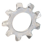 Zinc-Plated External Tooth Lock Washer