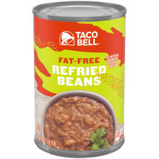 Taco Bell Fat Free Refried Beans, 16 oz Can