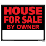 "House For Sale Sign (19"" x 24"")"