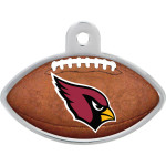 Arizona Cardinals Large Football Quick-Tag