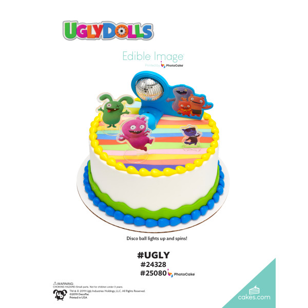 UglyDolls #Ugly DecoSet® The Magic of Cakes® Page