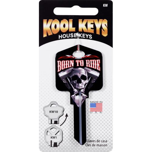 Kool Keys Born to Ride Key Blank Kwikset 66/97 KW1/10