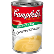 98% Fat Free Cream of ChickenSoup