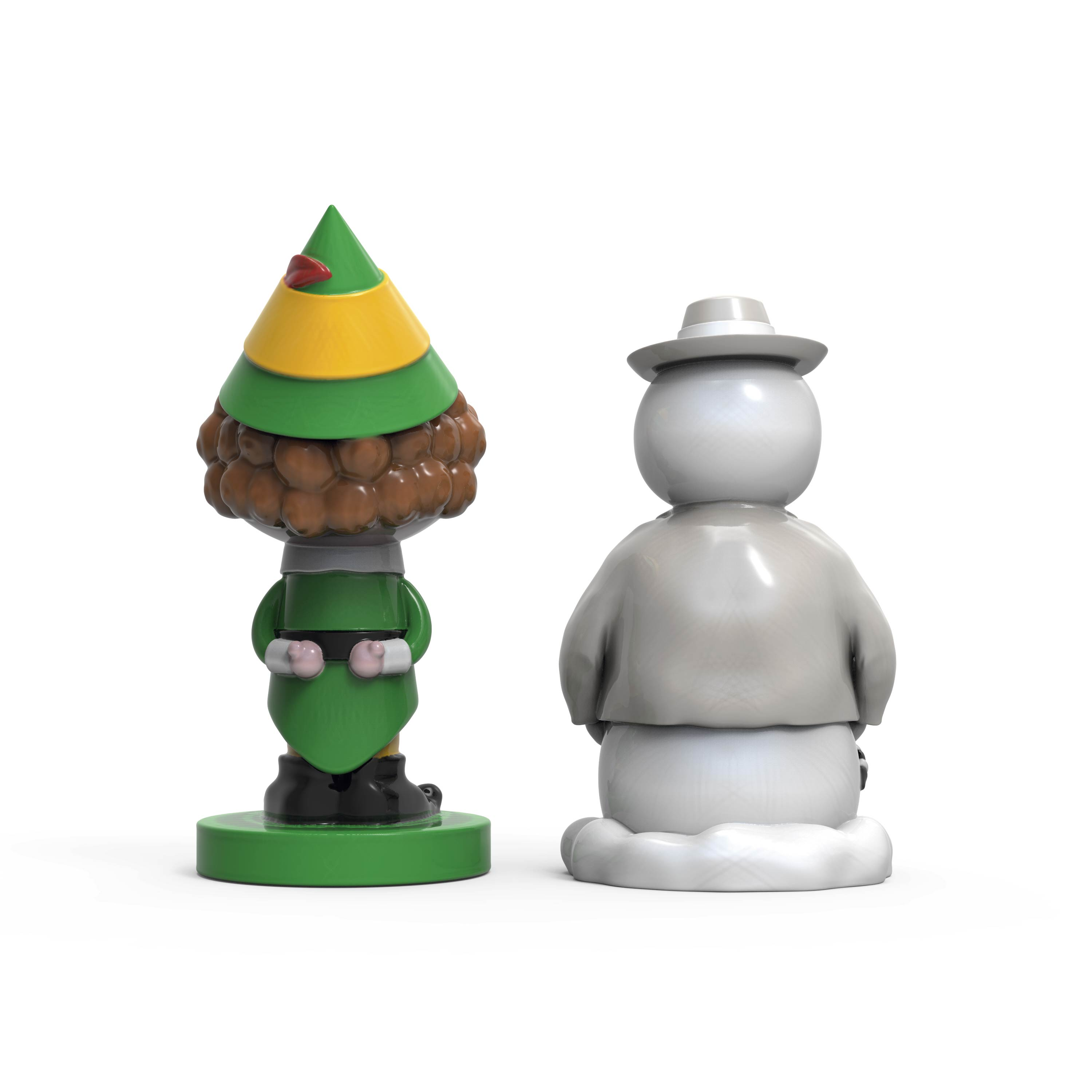 Christmas Collectibles Salt and Pepper Shaker Set, Elf & Snowman, 2-piece set slideshow image 7