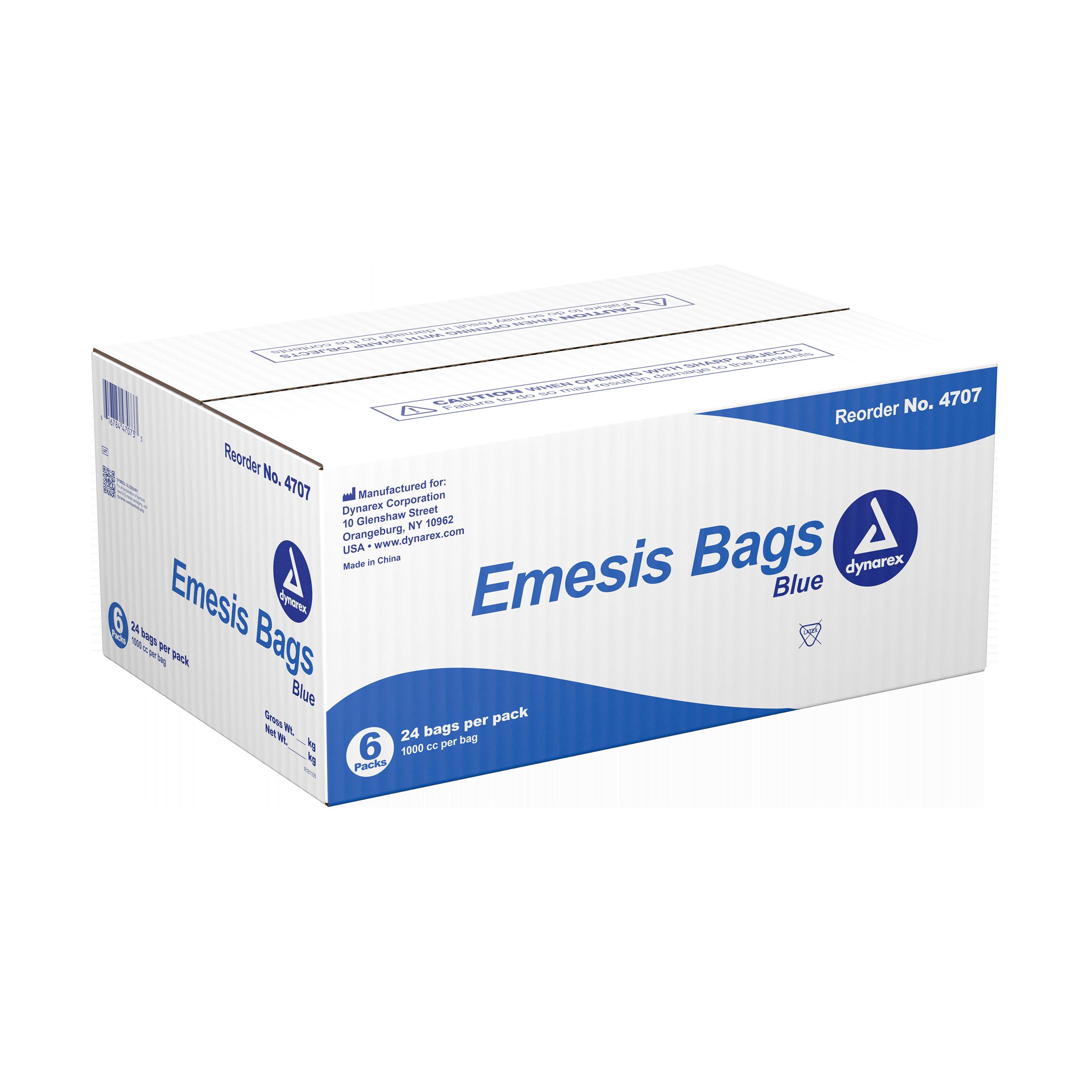 Emesis Bag - Blue - 6/24/Cs