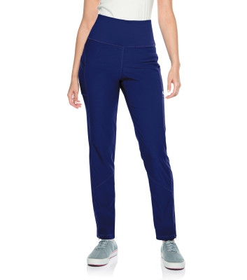 Urbane Align PWRcor Compression Waist Scrub Pants for Women: 2 Pocket, Contemporary Slim Fit, Stretch, Straight Leg, Medical Scrubs 9339-Urbane