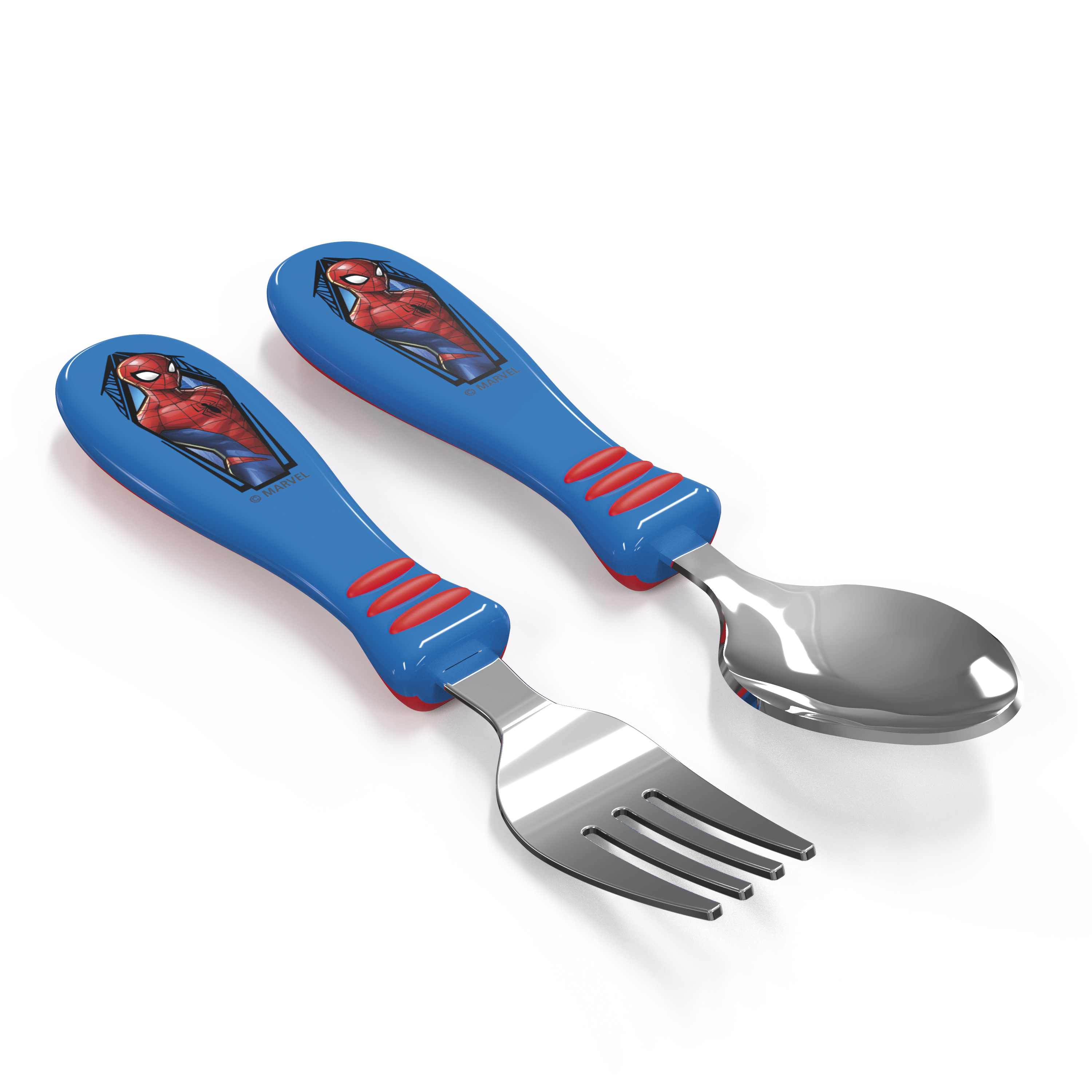 Marvel Comics Kid's Flatware, Spider-Man, 2-piece set slideshow image 3