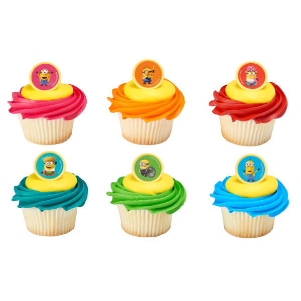 Despicable Me 3 Mayhem Cupcake Rings